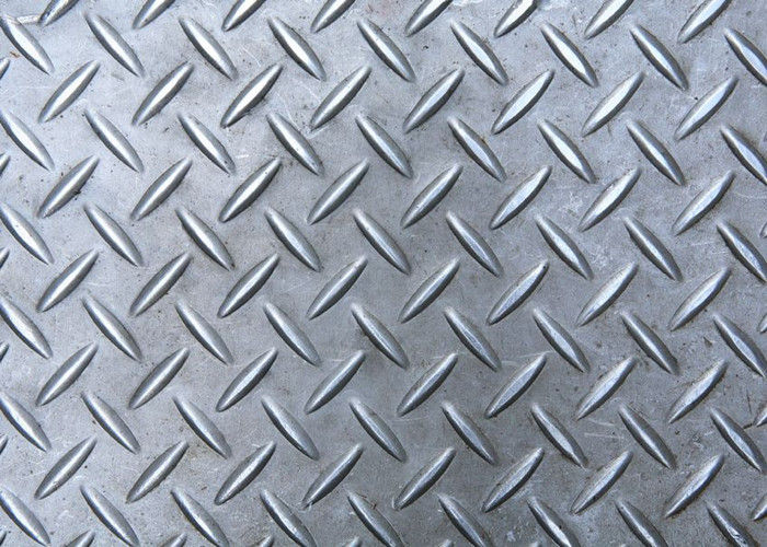 Q235 Diamond Shape Aluminum Safety Grating Anti Skid